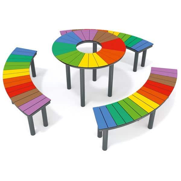 Regenbogentisch - Kreis 2