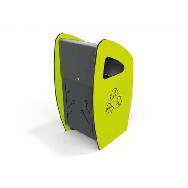 Abfallbehälter - Neon 2