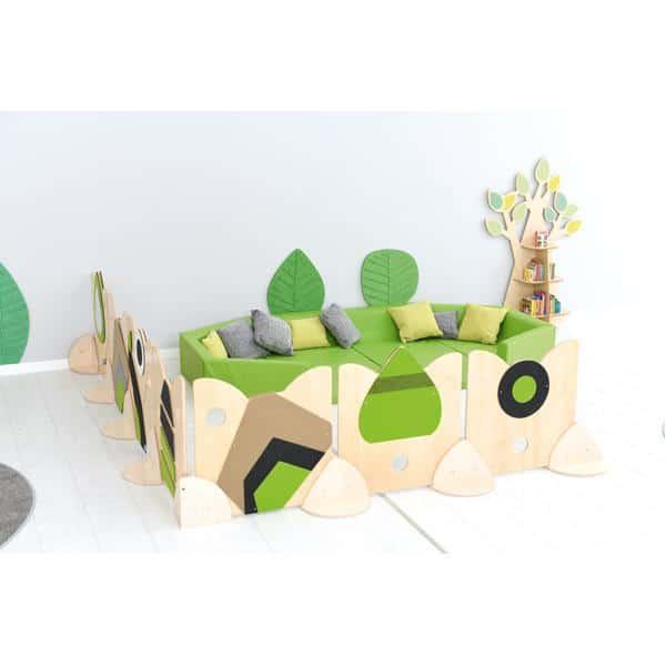 Holztrennwand Flora 2 - Baum 2