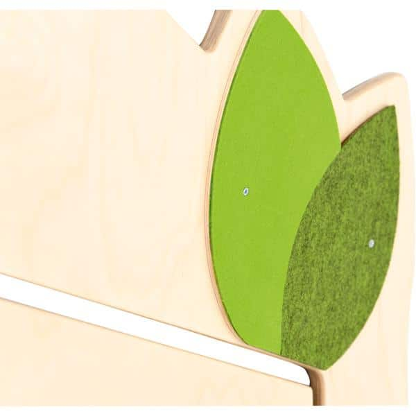 Holztrennwand Flora 8 - Tür 2