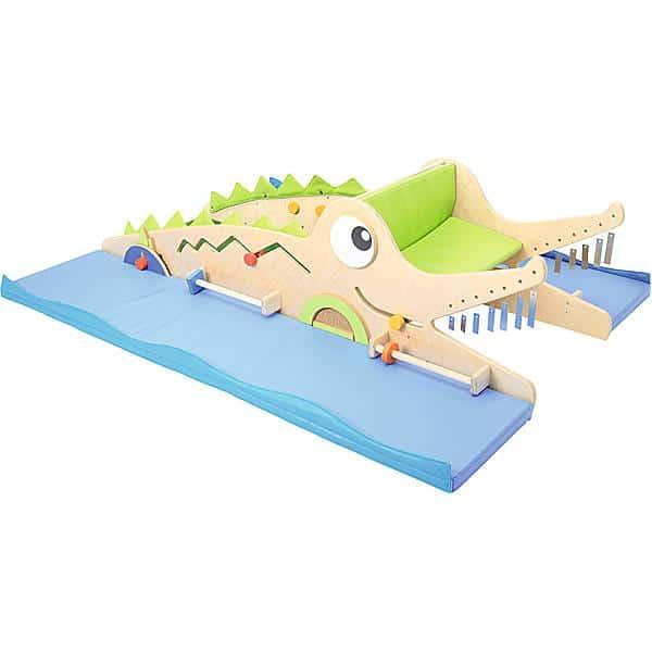 Sensorische Spielecke in Krokodil-Form 1