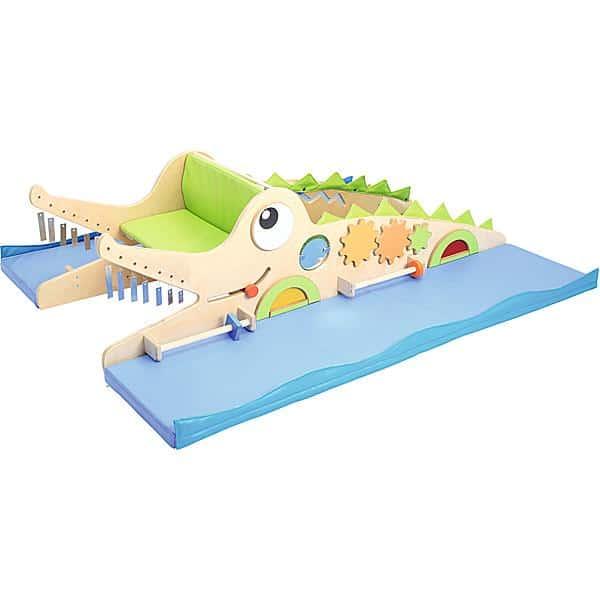 Sensorische Spielecke in Krokodil-Form 2