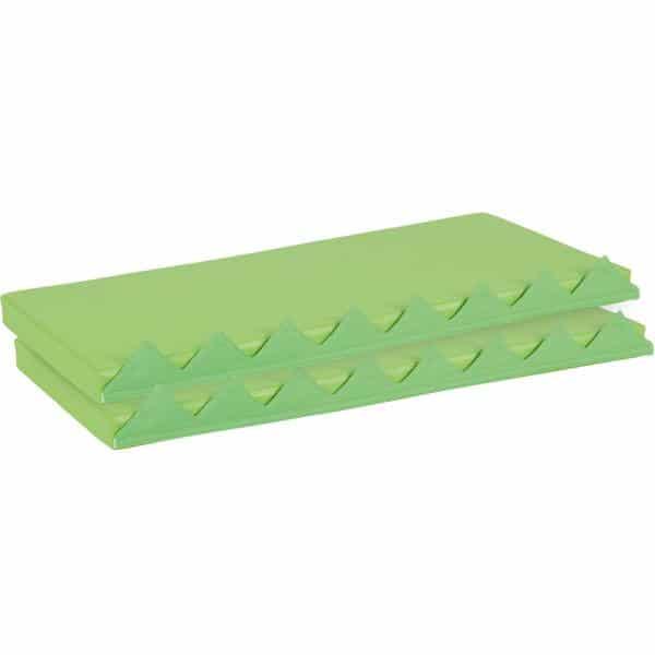 Matten 2er Set für Spielwand - grün 1