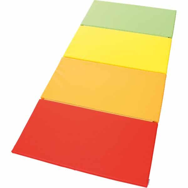 4-teilige Matte - rot/orange/gelb/grün 2