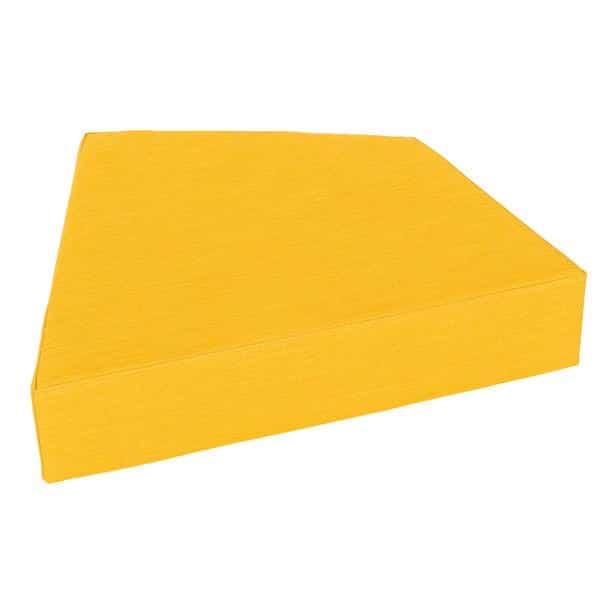 Matte Quadro 2 gelb - Höhe: 15 cm 1