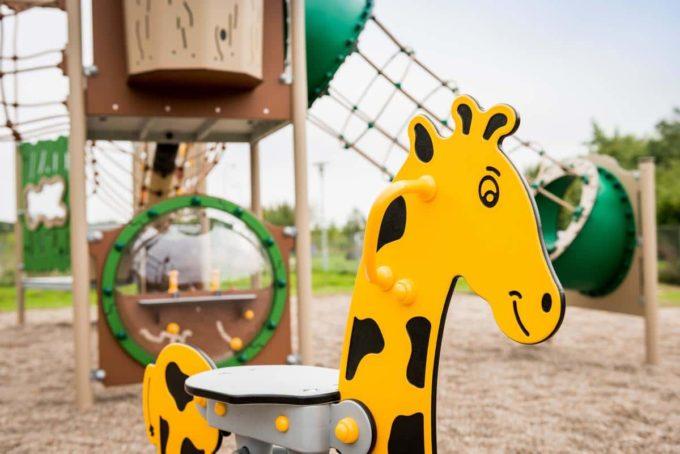 Federwippe Giraffe - LEDON Explore - EX011 5