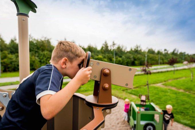 Spielanlage Caja - inkl. Rutsche, Treppe & Matschtisch - LEDON Explore - EX114 4