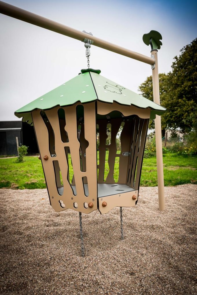 Spielanlage Hanok - inkl. Nestschaukel & schwingender Hütte - LEDON Explore - EX113 8