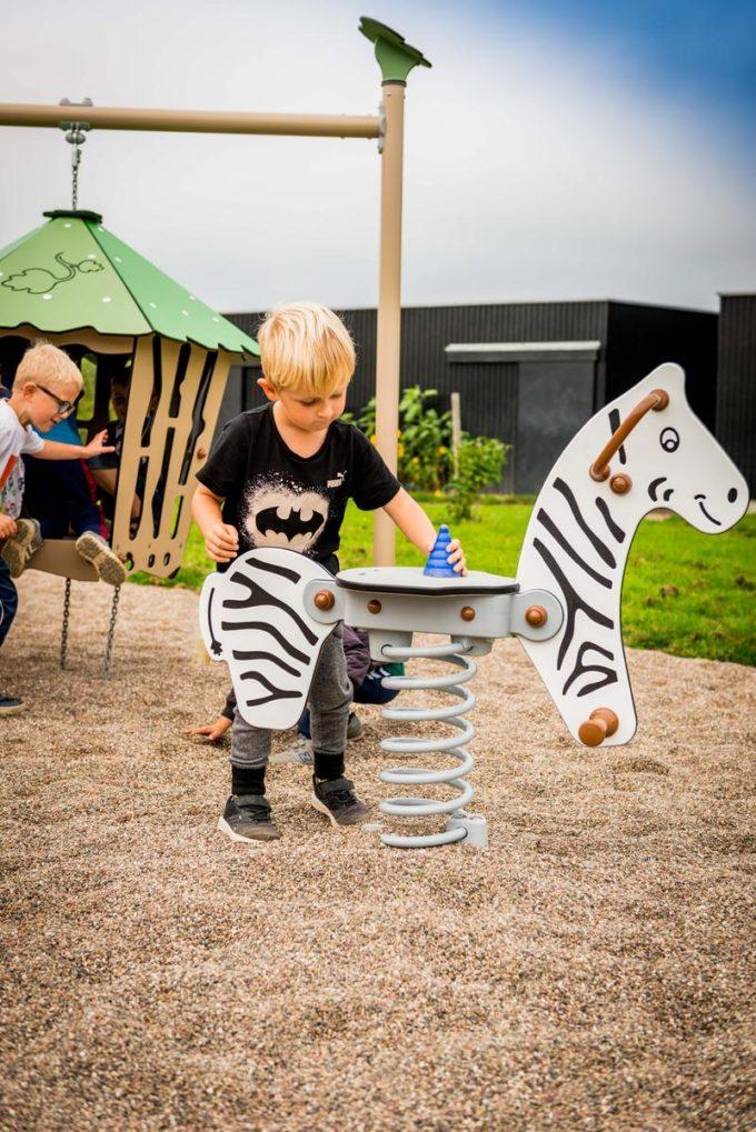 Federwippe Zebra - LEDON Explore - EX013 3
