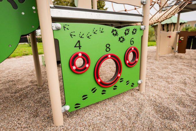 Spielanlage Zulu mit Spiralröhrenrutsche - LEDON Explore - EX375 5
