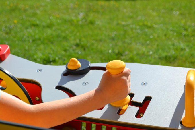 Spielhaus Traktor in Rot - LEDON Originals - 1710-11 5