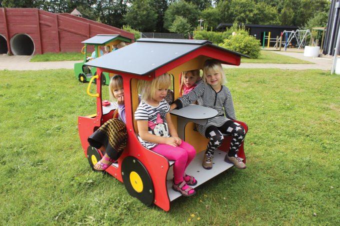 Spielhaus Traktor in Rot - LEDON Originals - 1710-11 4