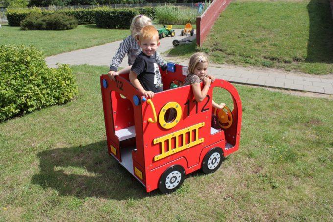 Spielhaus Mini Feuerwehrauto - LEDON Originals - 304010 8