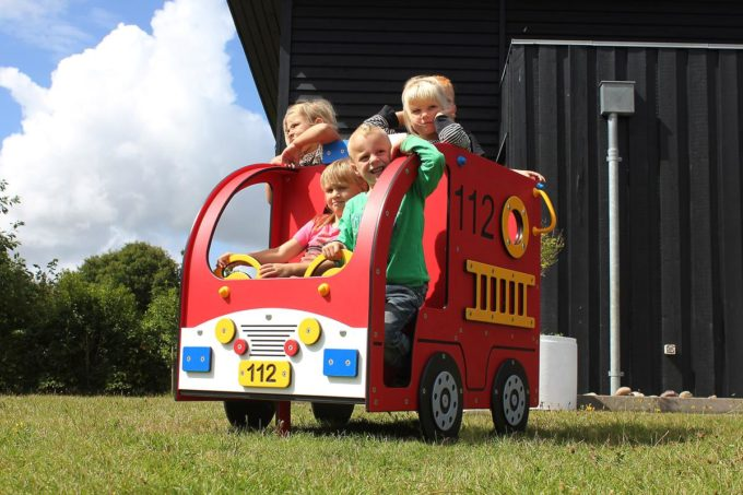 Spielhaus Mini Feuerwehrauto - LEDON Originals - 304010 4