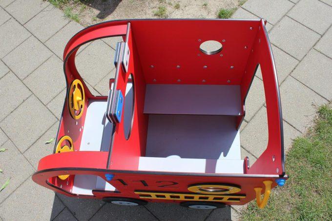 Spielhaus Mini Feuerwehrauto - LEDON Originals - 304010 9