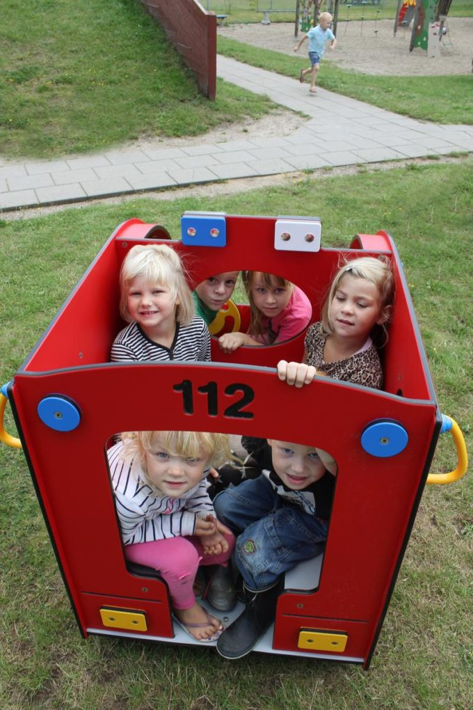 Spielhaus Mini Feuerwehrauto - LEDON Originals - 304010 10