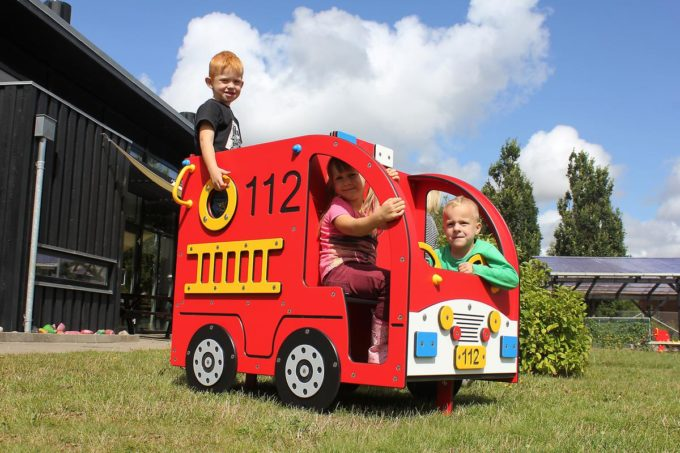 Spielhaus Mini Feuerwehrauto - LEDON Originals - 304010 11