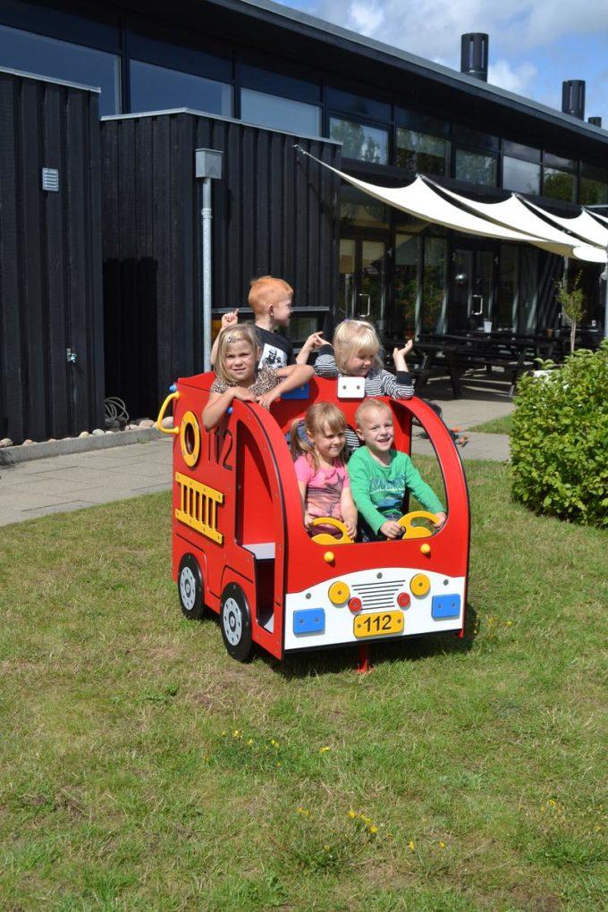 Spielhaus Mini Feuerwehrauto - LEDON Originals - 304010 5