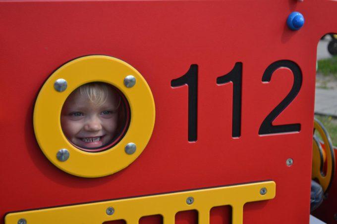 Spielhaus Mini Feuerwehrauto - LEDON Originals - 304010 6