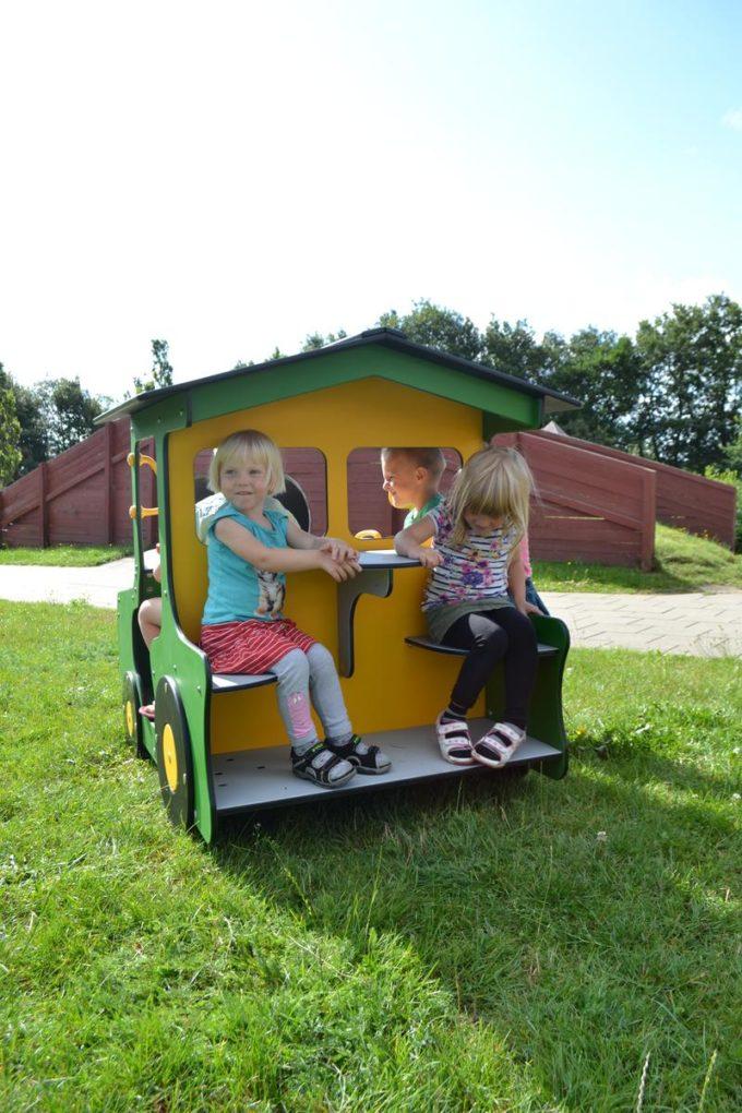 Spielhaus Traktor in Grün - LEDON Originals - 1712-13 7