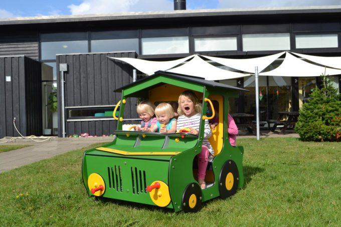 Spielhaus Traktor in Grün - LEDON Originals - 1712-13 6