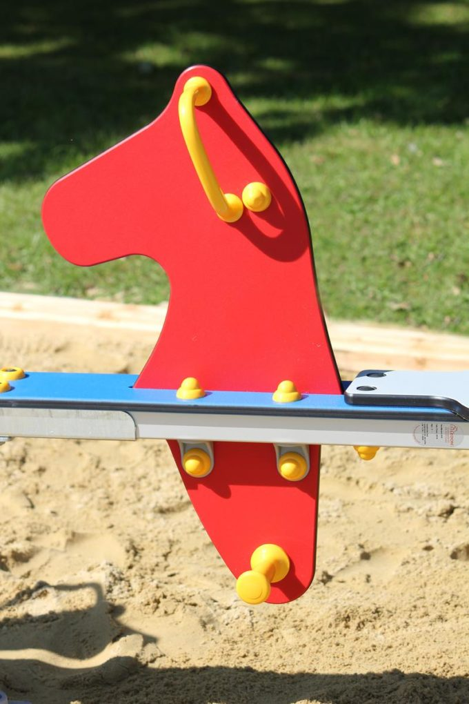 Federwippe Seepferd für 2 Kinder - LEDON Originals 3