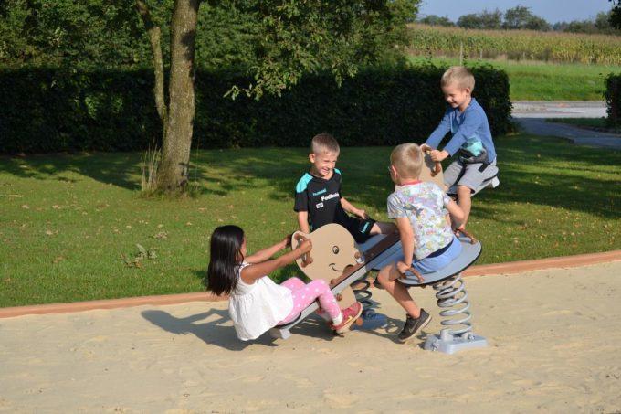 Federwippe Elefant für 4 Kinder - LEDON Explore - 642040 4