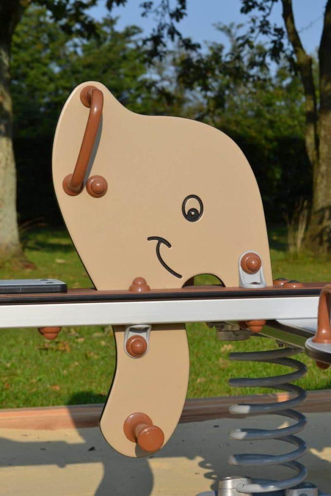 Federwippe Elefant für 4 Kinder - LEDON Explore - 642040 5