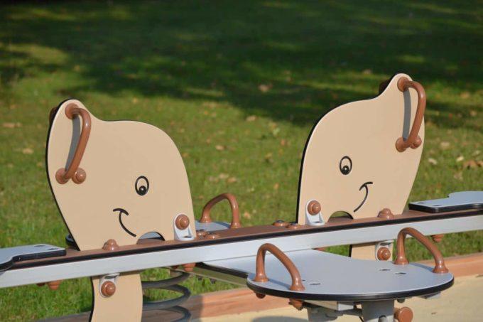 Federwippe Elefant für 4 Kinder - LEDON Explore - 642040 3