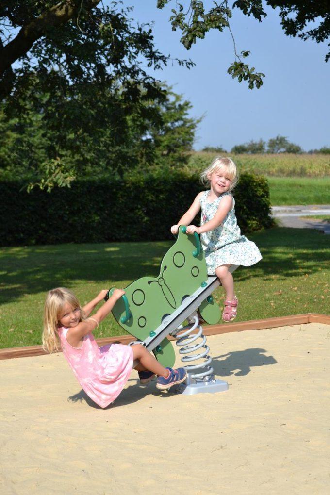 Federwippe Schmetterling für 2 Kinder - LEDON Explore - 642035 4