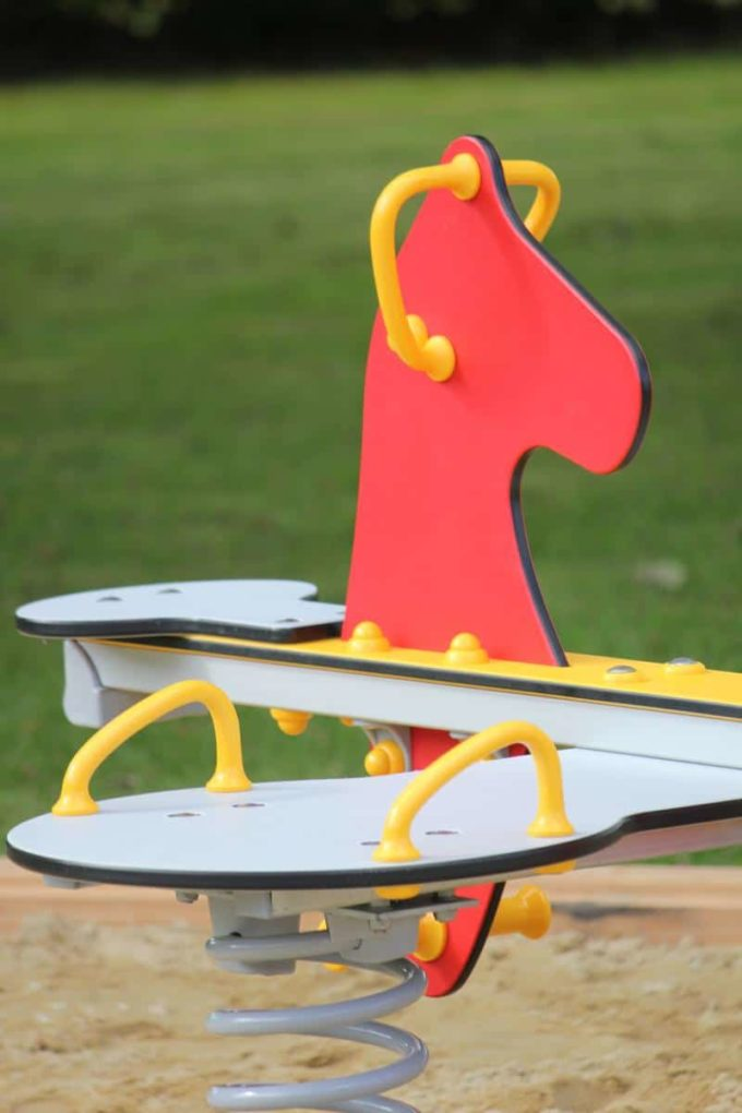 Federwippe Pony für 4 Kinder - LEDON Originals 6