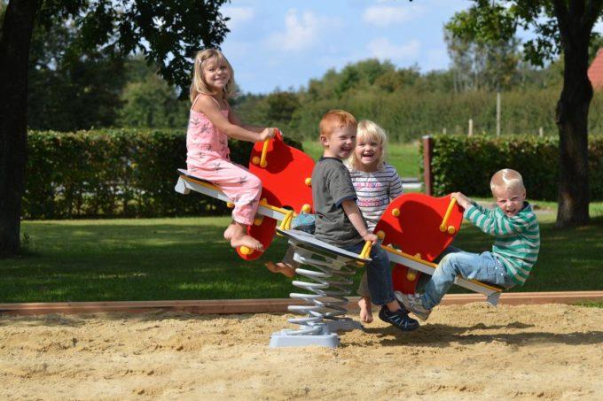 Federwippe Elefant für 4 Kinder - LEDON Originals 5