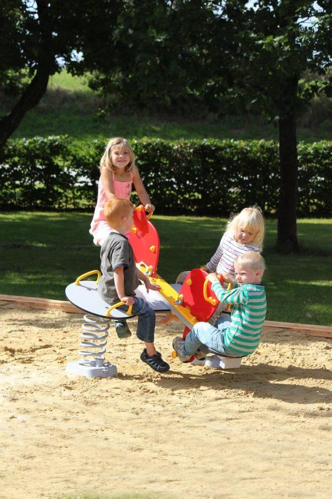 Federwippe Elefant für 4 Kinder - LEDON Originals 7