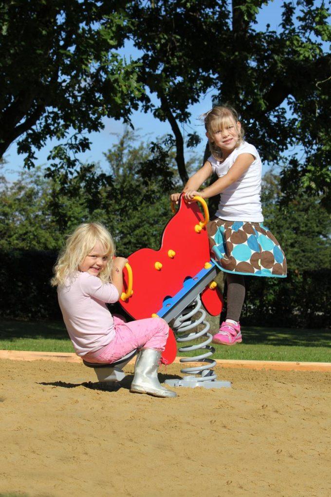 Federwippe Schmetterling für 2 Kinder - LEDON Originals 6