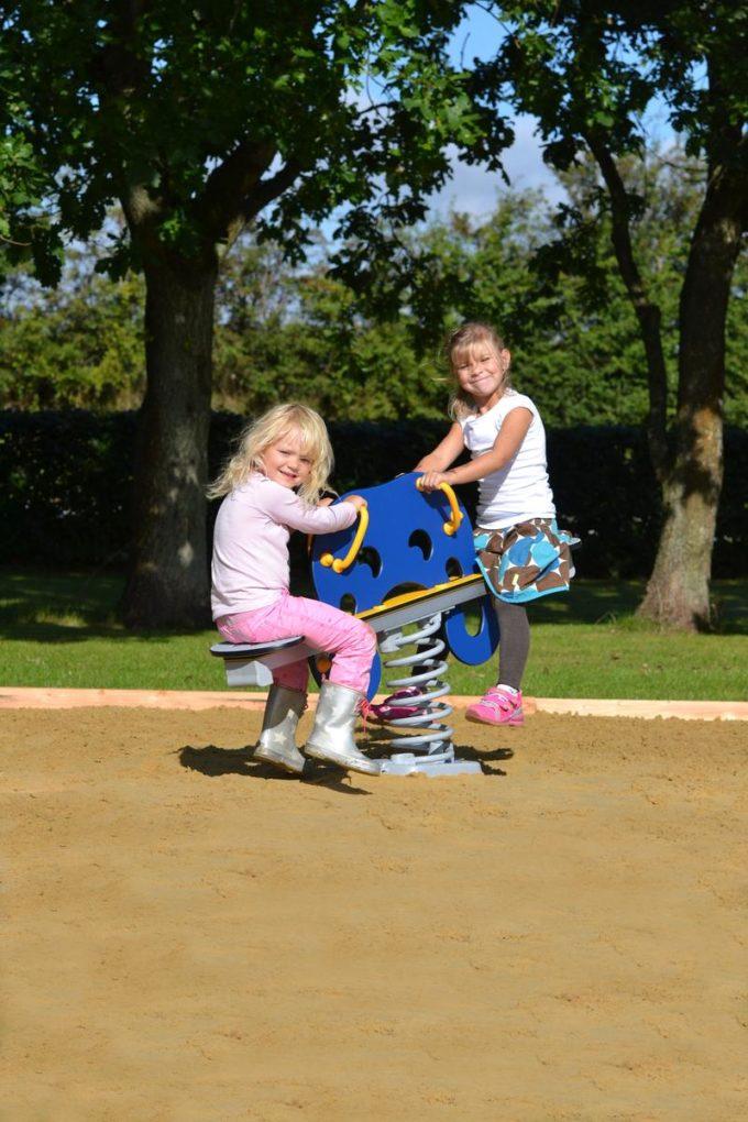 Federwippe Tintenfisch Blau für 2 Kinder - LEDON Originals 8