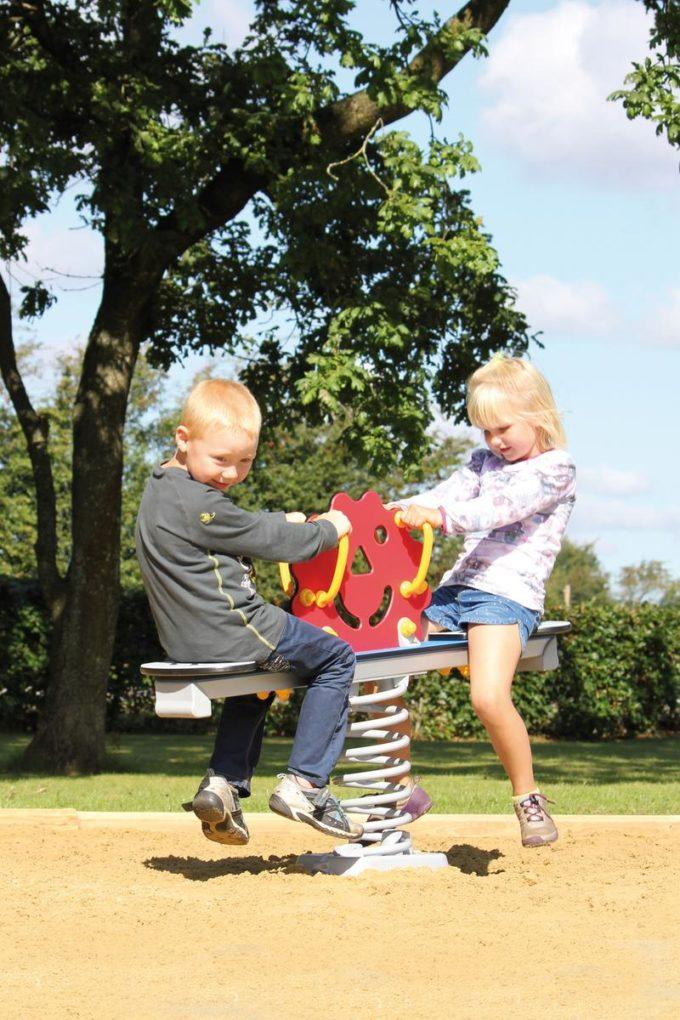 Federwippe Sonne für 2 Kinder - LEDON Originals 8