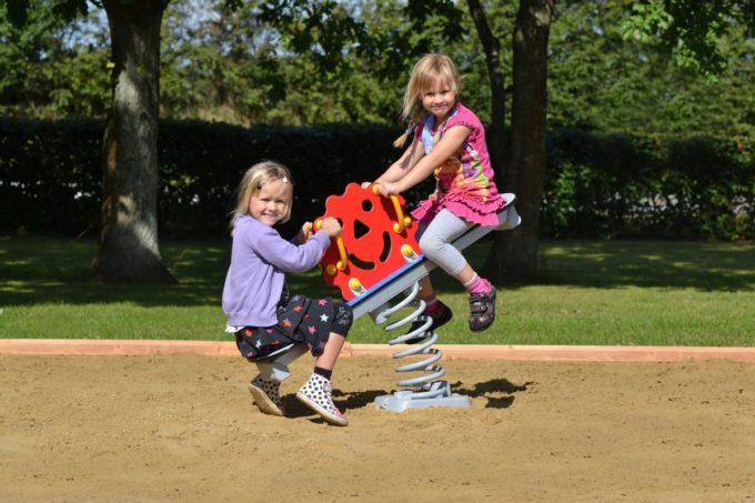 Federwippe Sonne für 2 Kinder - LEDON Originals 6