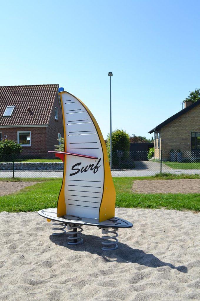 Stehwippe Windsurfer in gelb - LEDON Originals 5