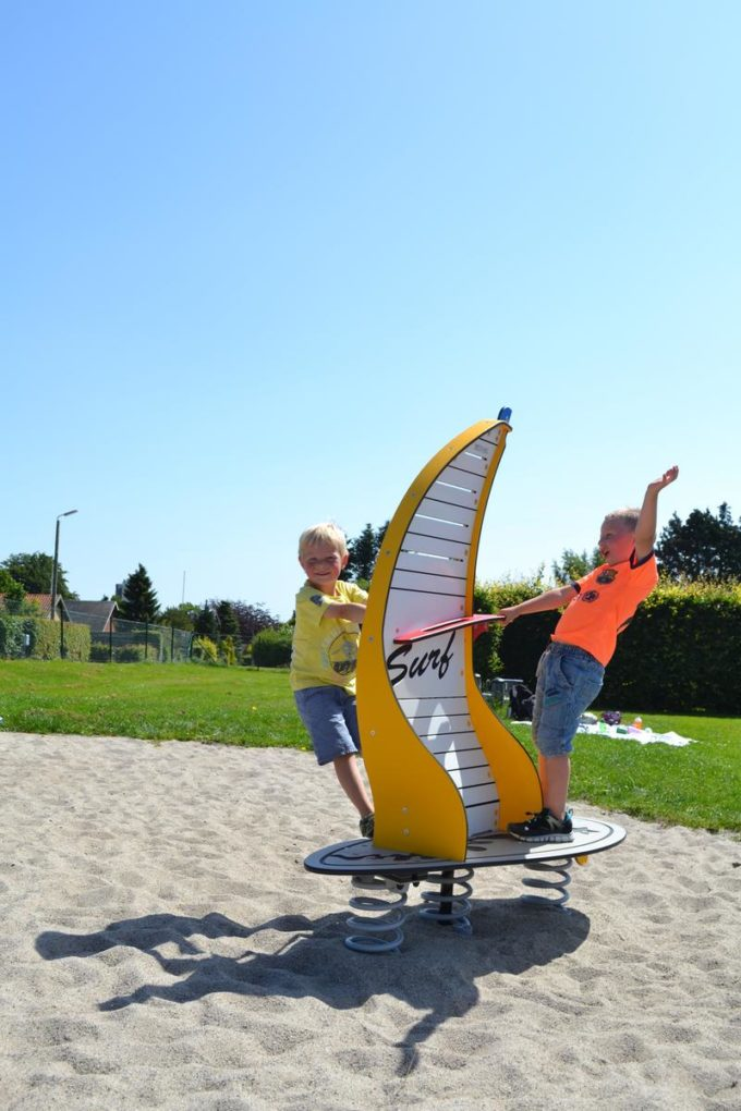 Stehwippe Windsurfer in gelb - LEDON Originals 3