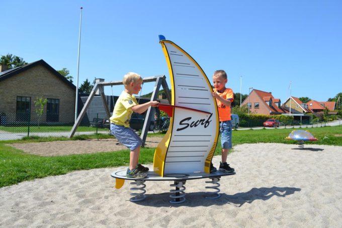 Stehwippe Windsurfer in gelb - LEDON Originals 7
