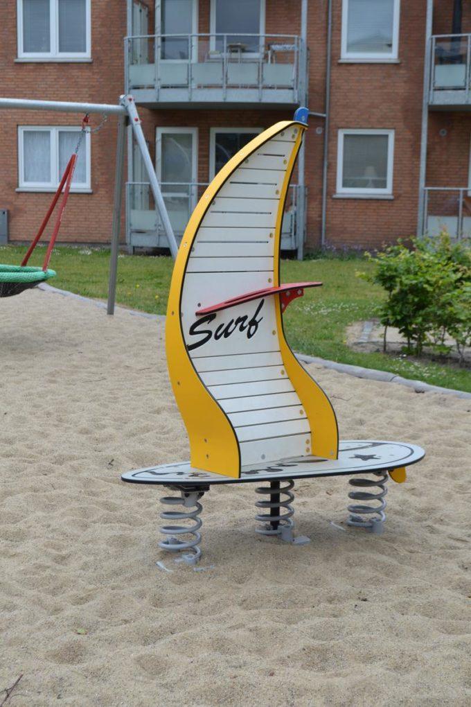 Stehwippe Windsurfer in gelb - LEDON Originals 6