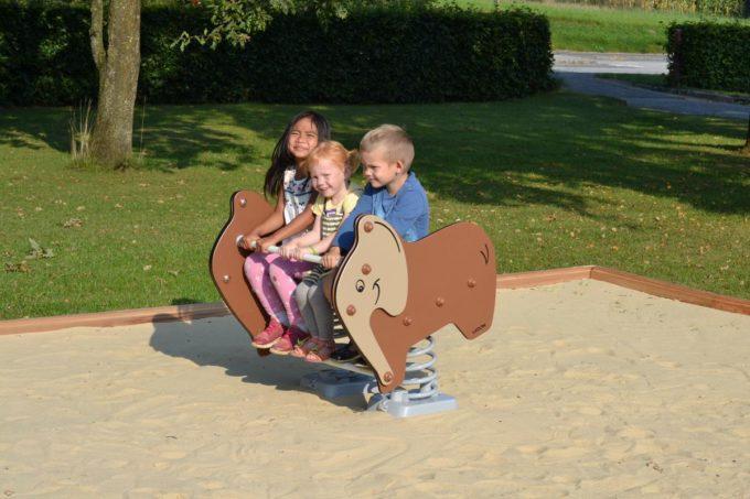Federwippe Breiter Elefant - LEDON Explore - 642030 3