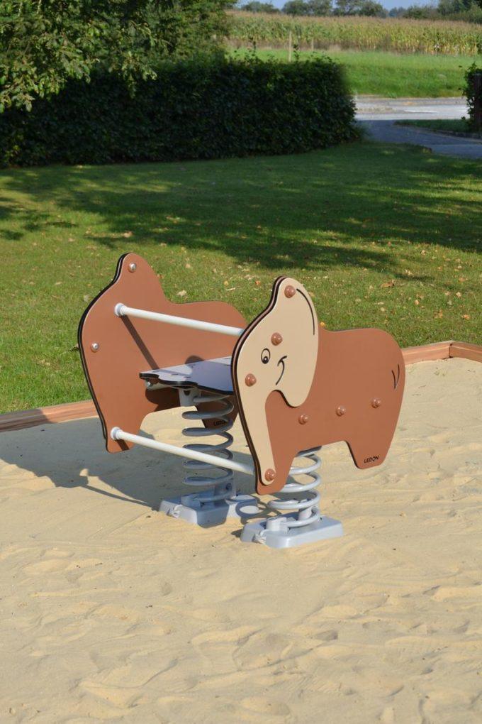 Federwippe Breiter Elefant - LEDON Explore - 642030 4