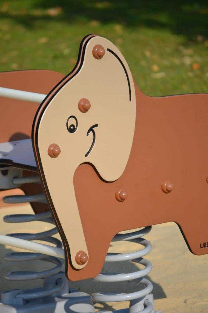 Federwippe Breiter Elefant - LEDON Explore - 642030 5