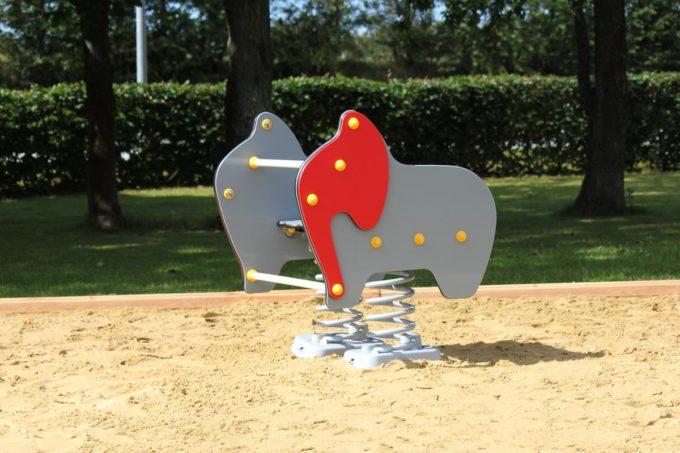 Federwippe Breiter Elefant - LEDON Originals 3