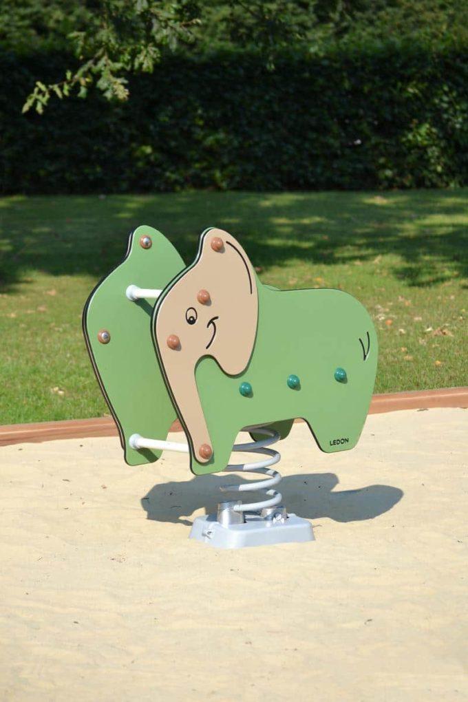 Federwippe Elefant - LEDON Explore - 642025 4