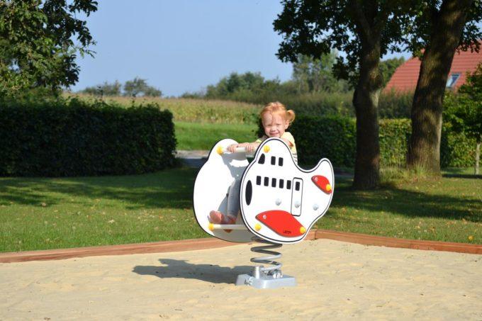 Federwippe Jumbo Flugzeug - LEDON Originals 5