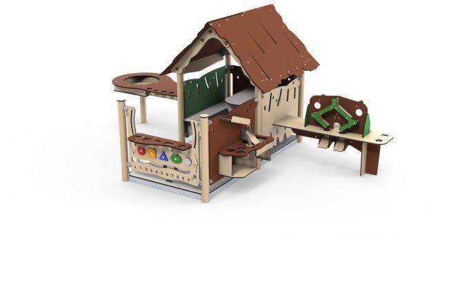 Spielhaus Tobi - LEDON Explore - EX094 1