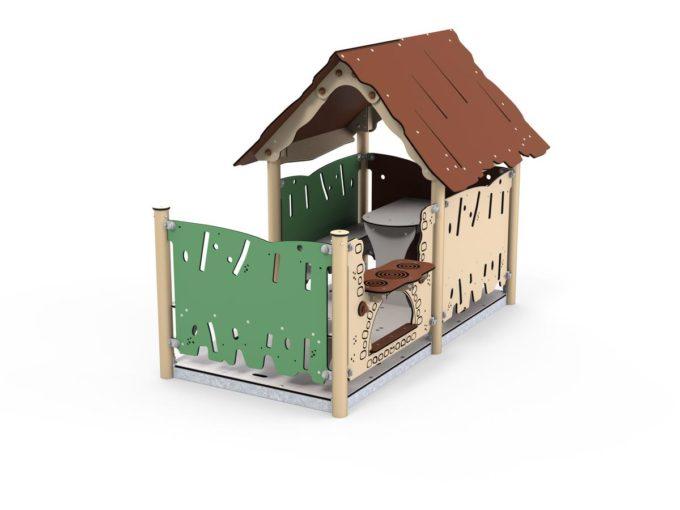 Spielhaus Kiki - LEDON Explore - EX092 1