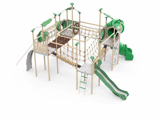 Spielanlagen-Kletterpark Saldor - LEDON Explore - EX460 1